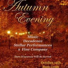 Autumn Evening Flier