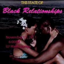 Black Relationships Flier